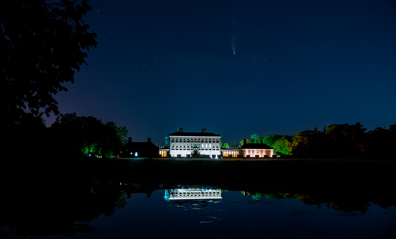 Neowise Comet at Castletown House & Parklands, Celbridge, Ireland